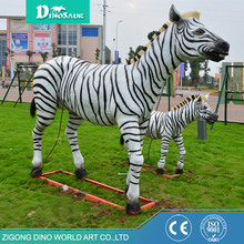 Handmade Life Size Zebra Statues And Figurines
