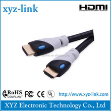 3D Ethernet hdmi to composite video cable Support 4k*2K 1080p,ideal for Home theater,HDTV,Xbox and set-top boxes