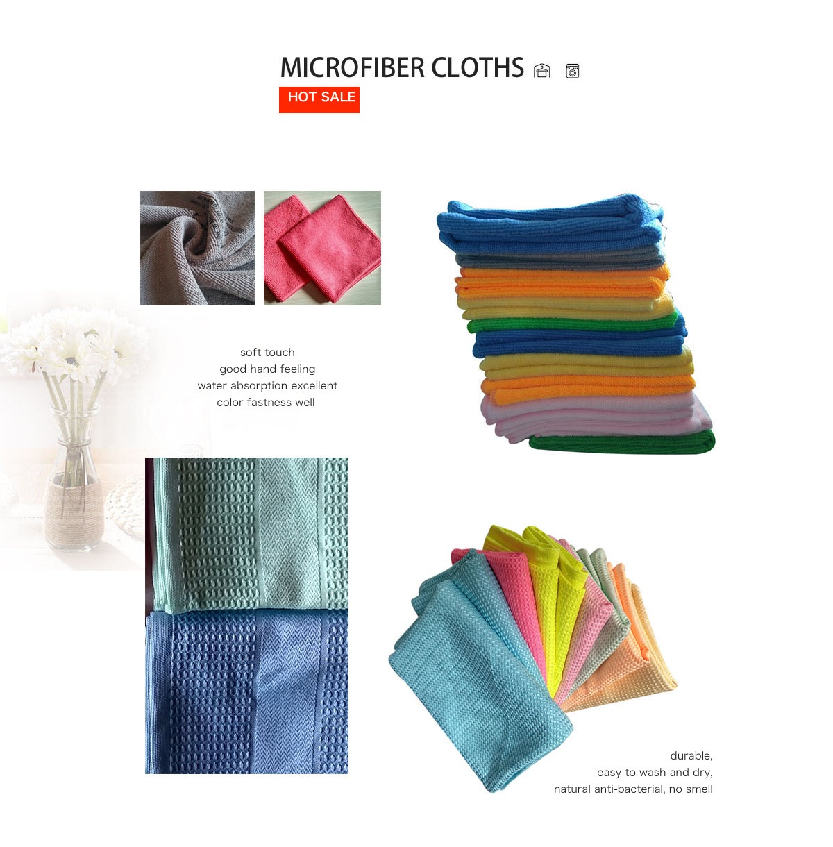 18 new green microfiber towels new cleaning cloths bulk 12x12 manufacturers sale