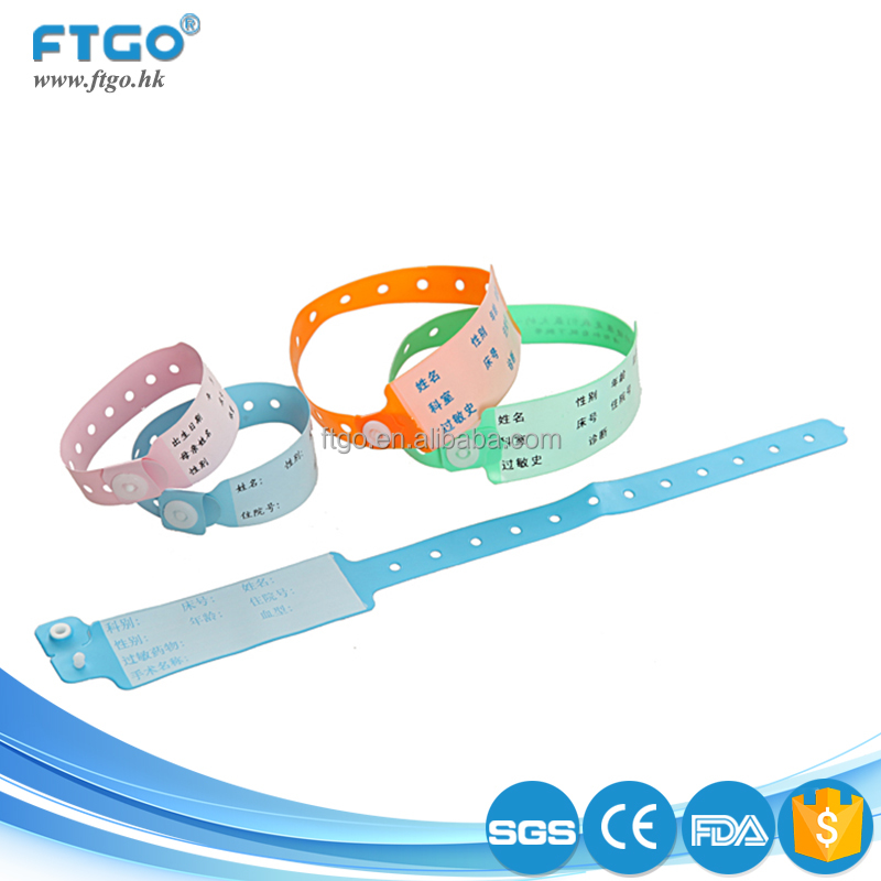 Best selling write on writable wristbands