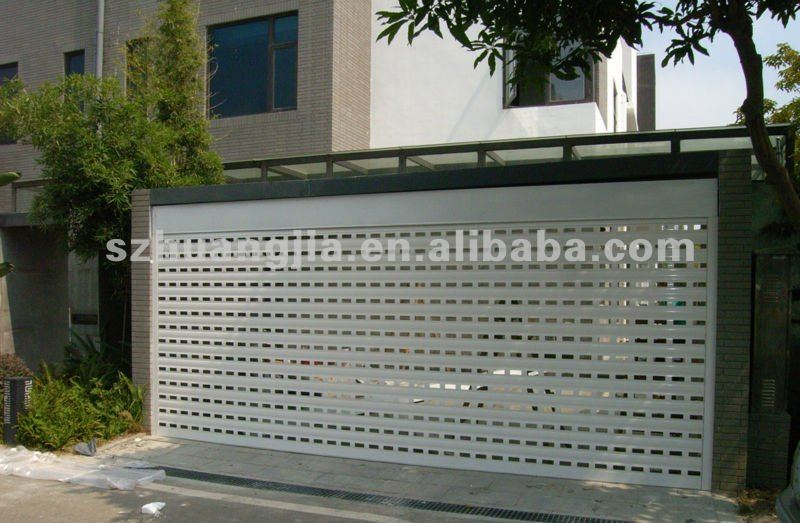 Perforated aluminum roller shutter door price