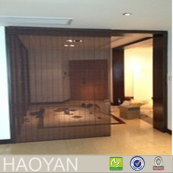 bamboo panel curtain for sliding window