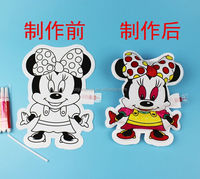 Coloring and inflatable Mickey Mouse toy