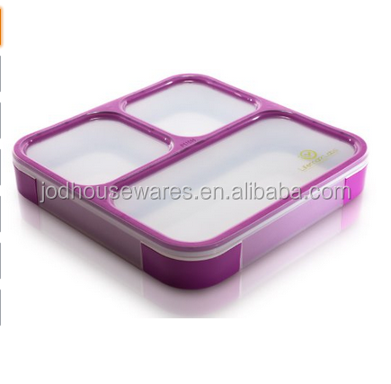 2016 Very Hot Products of Bento Lunch Box with 3 Compartments