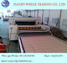 automatic 2 ply corrugated cardboard production line / corrugated board making machine/carton packagiang line machine price
