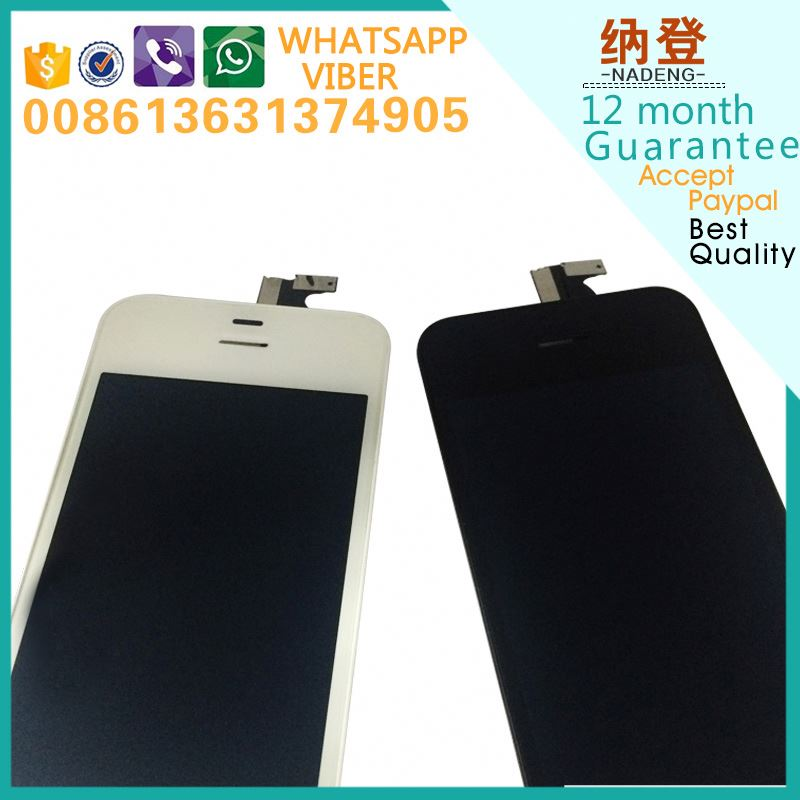 2017 for iphone 4 lcd+digitizer touch sreen+glass assembly in alibaba