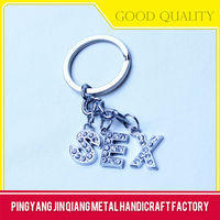 Promotional customized keychains for girls