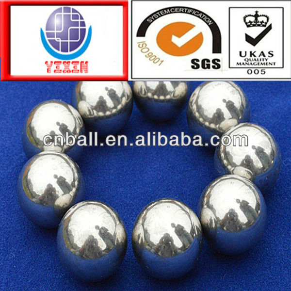 Frequently-used hot sell 1.4mm 2.5mm 3.175mm 5.556mm 9.525mm 15.875mm stainless steel ball