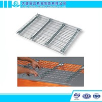 Flare Steel Storage Wire Mesh Decking for Box Beam Racking