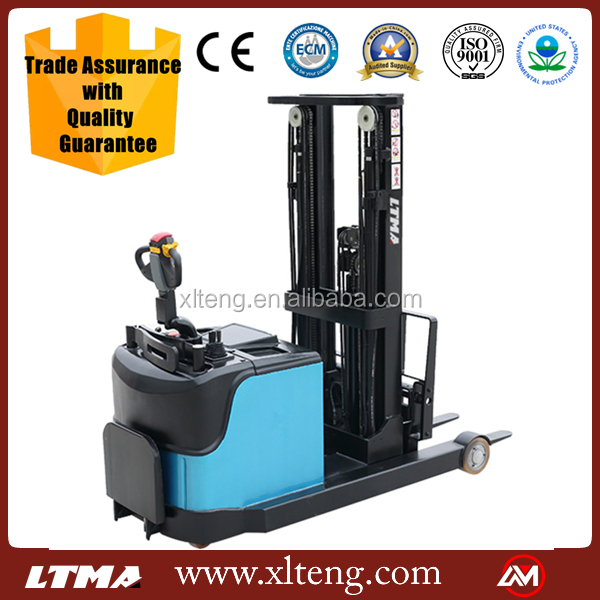 LTMA 1 - 1.5 ton reach stacker price electric stacker forklift