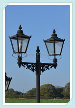 Europe style different size decorative antique yard lamp post