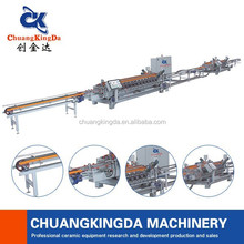 CKD-High efficiency dry type ceramic tile floor edge grinding production line.Ceramic tile processing production line