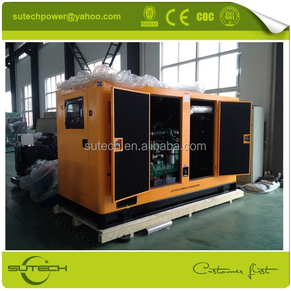 Hot sale 250kw electric silent generator with Stamford generator