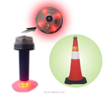 light sensor battery operated mini LED lights used in traffic cone