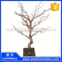 New Artificial plastic tree , wedding table tree centerpieces for table decoration