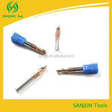 High Quality Carbide ball nose End cutter/bull head Milling Cutter
