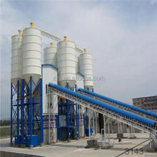 Popular concrete batching plant with good quality pigments for color concrete tile HZS90 HZS120