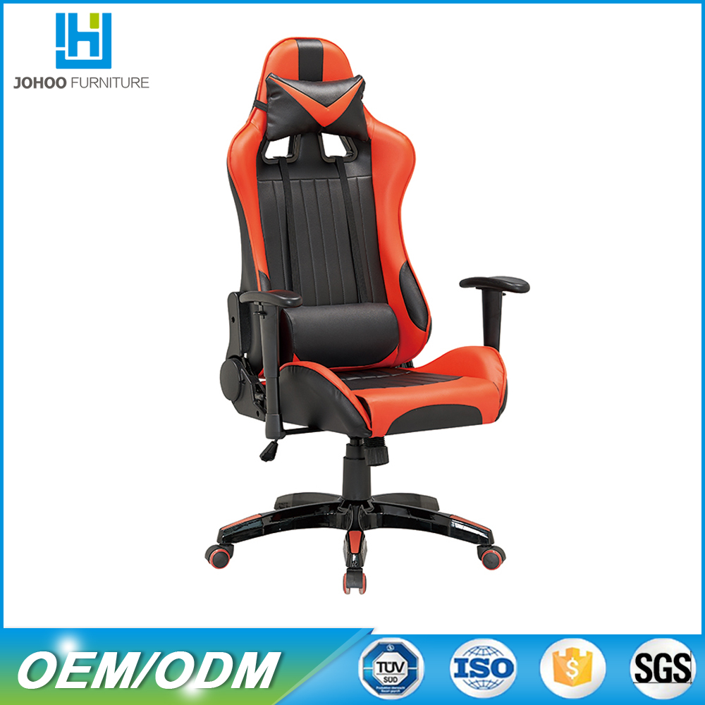High back cheap racing seat style gaming office chair silla gamer dx racer