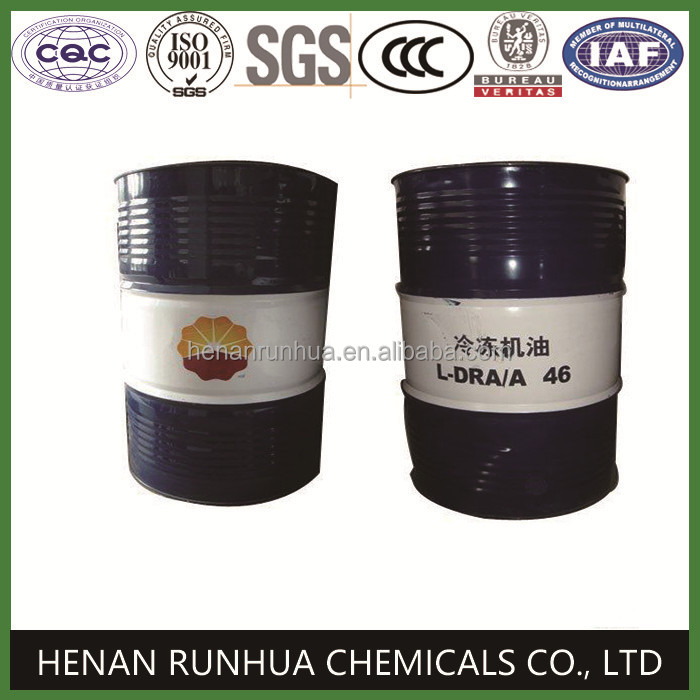Chinese brand Kunlun synthenic compressor oil refrigerant lubricant