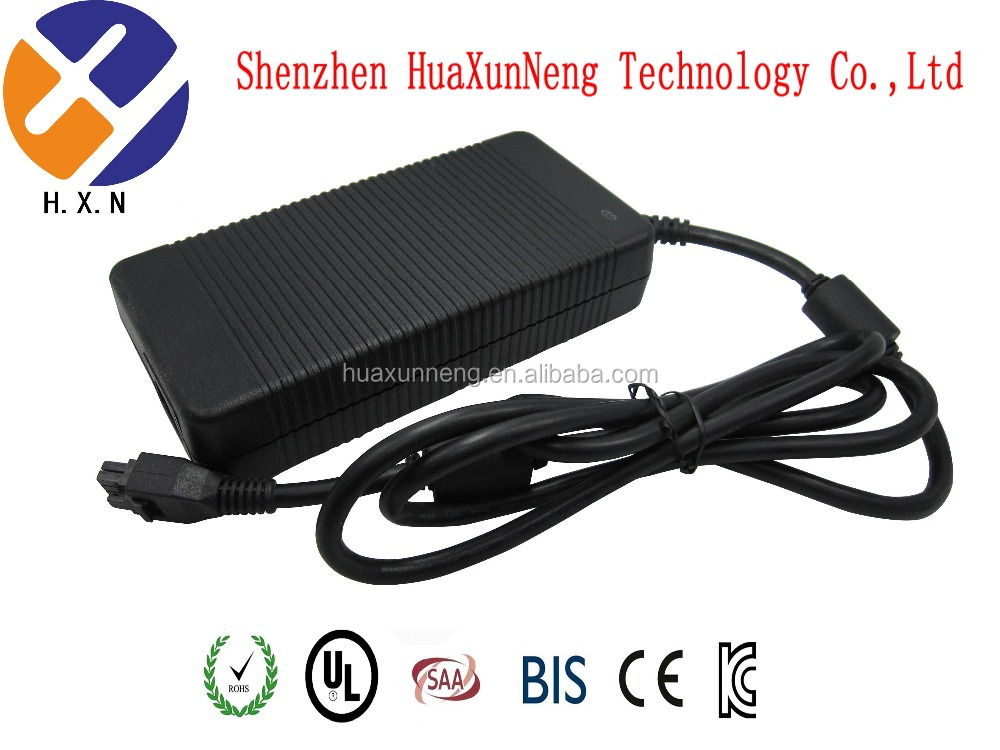 180W 12v 15a laptop power adapter for Delta with 8 pin connector ac adapter
