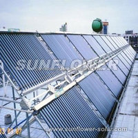 Solar hot water cylinder