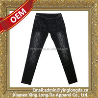 Top quality crazy Selling hot sale new pattern jeans for women