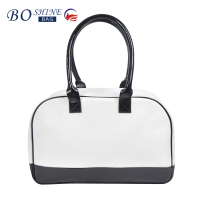 Dongguan PU factory BSCI Newest Top Quality Luggage Leather Cosmetic Travel Bag