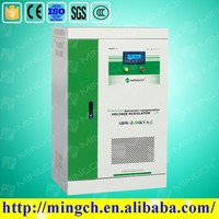 CE ROHS approved 50KVA SBW-Z series three phase compensated carbon brush type low dropout voltage regulator