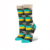 2014 Fashion Combed Cotton Fine Fit Feet Seamless Toe Black Woman Sock