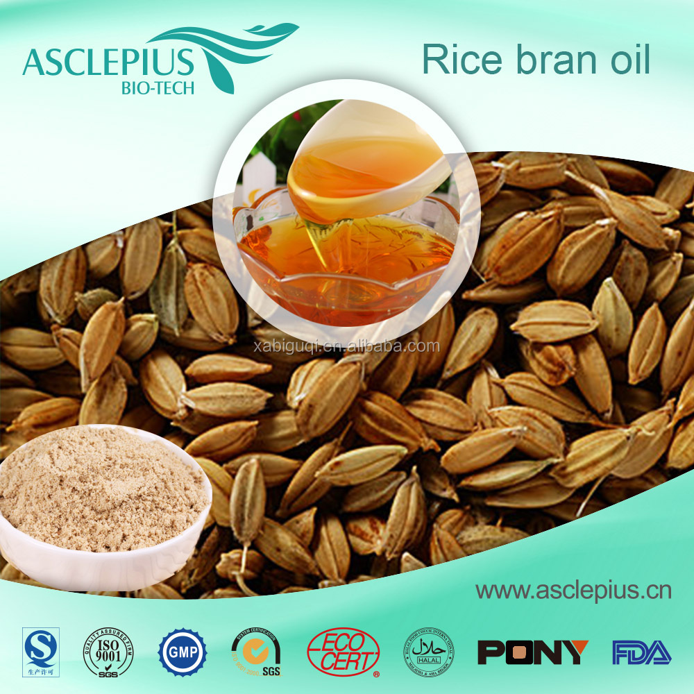 Factory Supply Pure Natural Organic Rice Bran Oil
