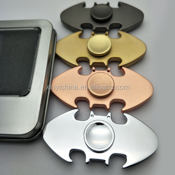 2017 Batman Finger Spinner Hand Spinner R188 Steel Bearing Metal Fidget Toy Anti Stress Reliever Christmas Birthday Gift