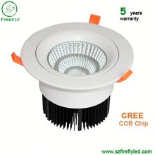 Aluminum Body 145mm Diameter UL Listed led commercial downlight for led retrofit projects