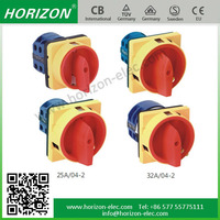 LW28GS Series Padlock type Power cut off switch rotary cam switch