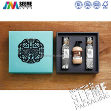 Customized printing essential oil bottle gift packaging boxes Olive oil packaging box