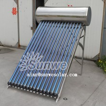 Pressurized Solar Water Heater Stainless Steel 150L For Portugal Customer Made In China