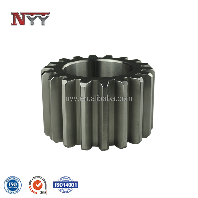 all kinds of steel metal spur gear for machine transmission