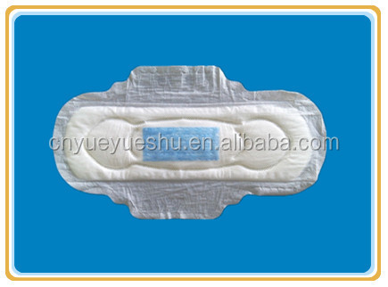 blue incored sanitary pads with thick style