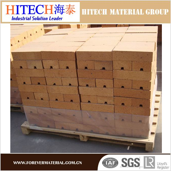 lower price zibo Hitech fireclay brick with high temperature resistance for pizza oven