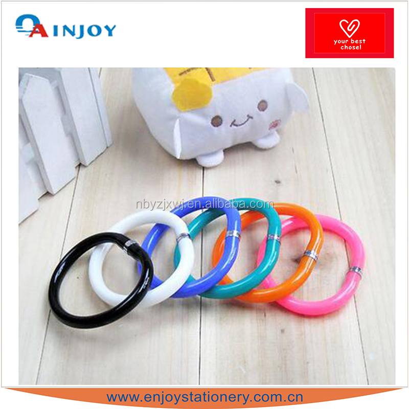 Creative bracelet pen hand ring Bending ball pen promotion gift pen