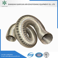 Thick Semi-rigid Aluminum Flexible Duct for Fume Exhaust
