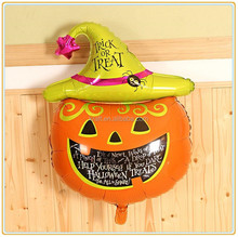 halloween pumpkin balloon,Inflatable helium foil Halloween decorations