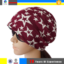 custom design your own knitted women winter hat