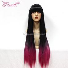 Wholesale Fashion Cosplay Hair Long Colorful Party Wig