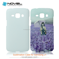 Sublimation 3D cell phone housing for Samsung J1