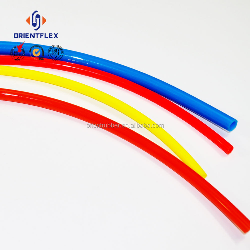 Customized flex low permeability air conveying PA flexible nylon hose (pa6 pa11 / pa12) factory