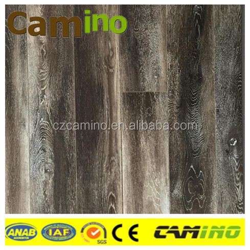 water resistant oak hardwood small embossed laminate flooring