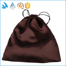 2015 Wholesale satin drawstring gift bags,satin dust bags for purse