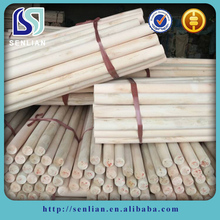 Natural Wooden Handle for Broom/Mop/Hoe with Threaded Head