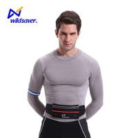 Best exercise fanny pack runner safety reflective waist bag with pockets