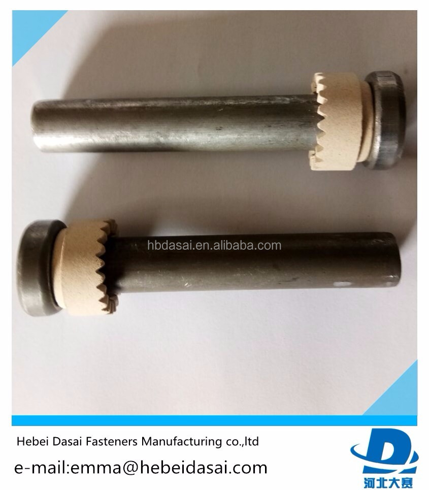 Welding stud M22 with ceramic ferrule for building made in China